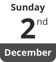 Sunday 2nd December